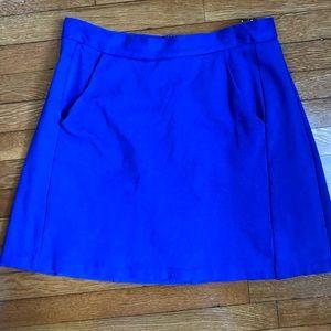 Anthropologie Blue Dres Skirt